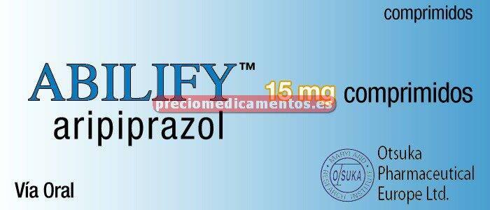 Caja ABILIFY 15 mg 28 comprimidos