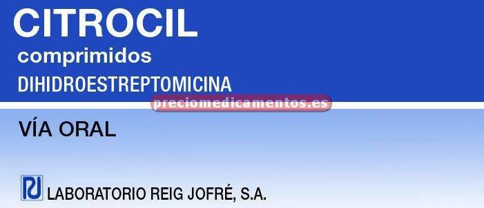 Caja CITROCIL 50 mg 8 comprimidos