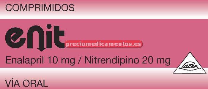 Caja ENIT 10/20 mg 30 comprimidos