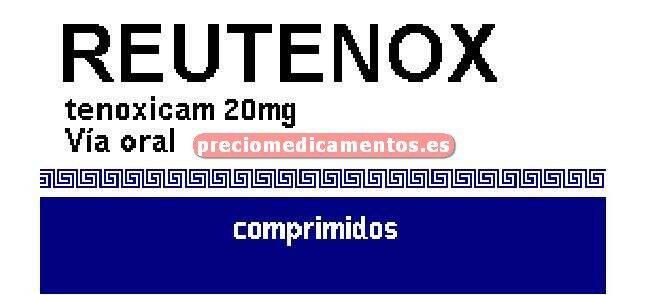 Caja REUTENOX 20 mg 20 comprimidos