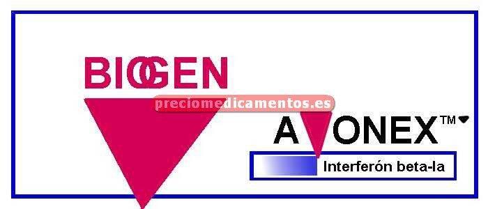 Caja AVONEX 30 mcg 4 jeringas precargadas 0,5 ml