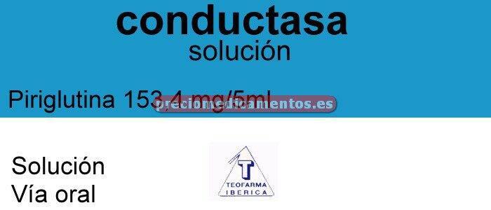 Caja CONDUCTASA 153,3 mg/5 ml solución 150 ml