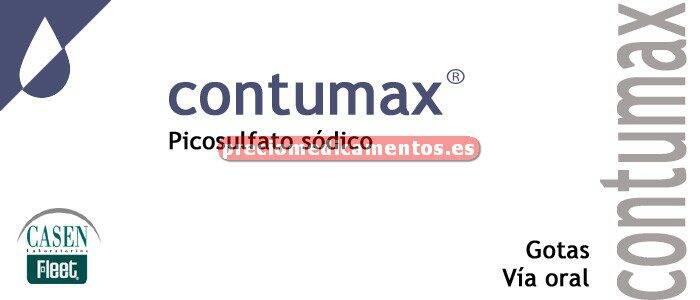 Caja CONTUMAX 7.5 mg/ml gotas 30 ml