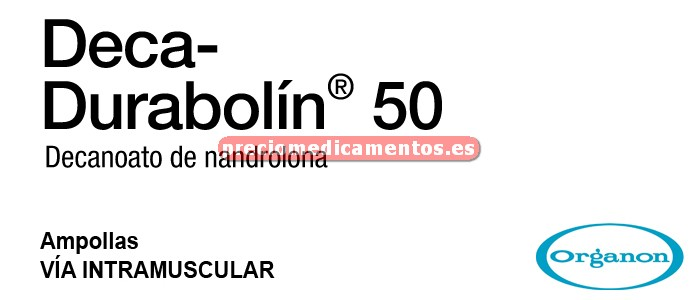 Caja DECA DURABOLIN 50 mg 1 ampolla 1 ml