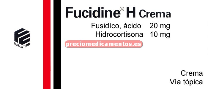 Caja FUCIDINE H crema 15 g
