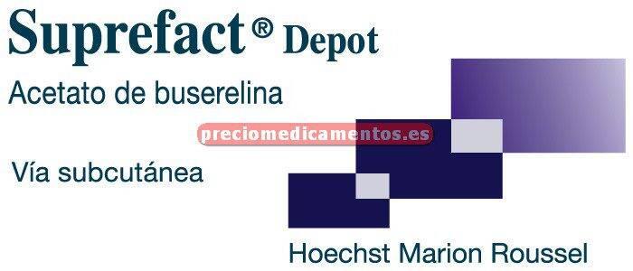 Caja SUPREFACT DEPOT 9,45 mg 1 jer 3 implantes subcut