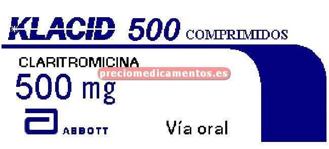 Caja KLACID 500 mg 14 comprimidos