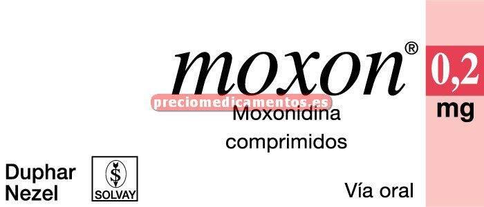 Caja MOXON 0.2 mg 30 comprimidos recubiertos