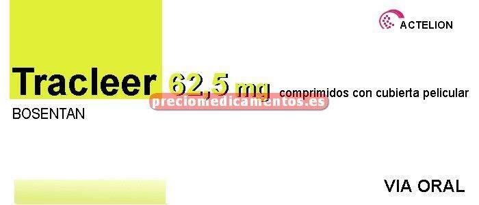 Caja TRACLEER 62,5 mg 56 comprimidos