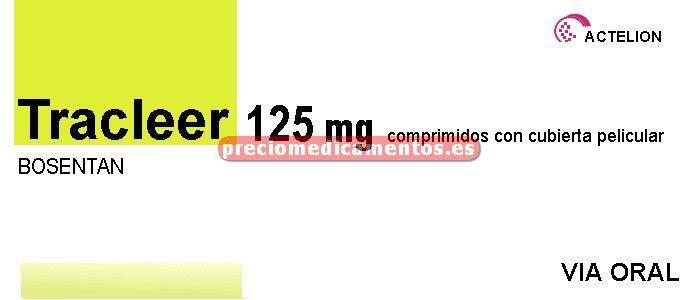 Caja TRACLEER 125 mg 56 comprimidos
