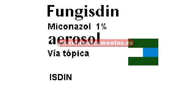 Caja FUNGISDIN 1% aerosol 125 ml
