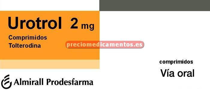 Caja UROTROL 2 mg 56 comprimidos recubiertos