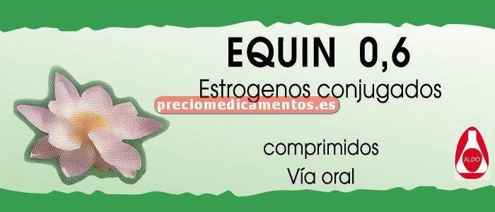 Caja EQUIN 0,625 mg 28 comprimidos