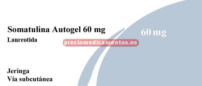 Caja SOMATULINA AUTOGEL 60 mg 1 jeringa precargada