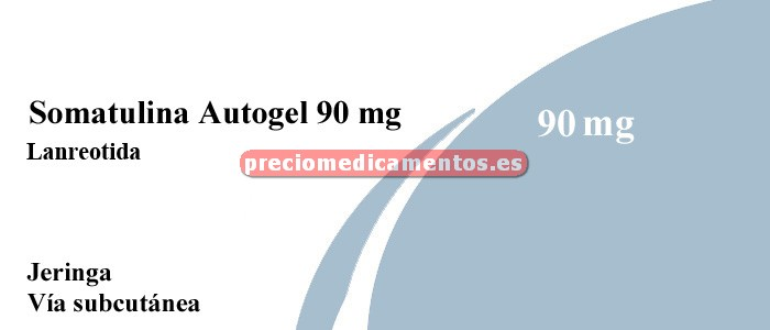 Caja SOMATULINA AUTOGEL 90 mg 1 jeringa precargada
