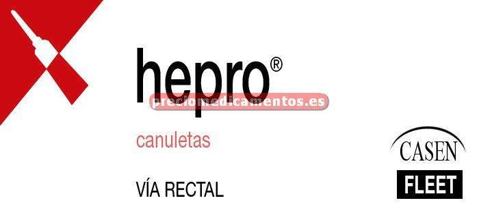 Caja HEPRO 10 canuletas