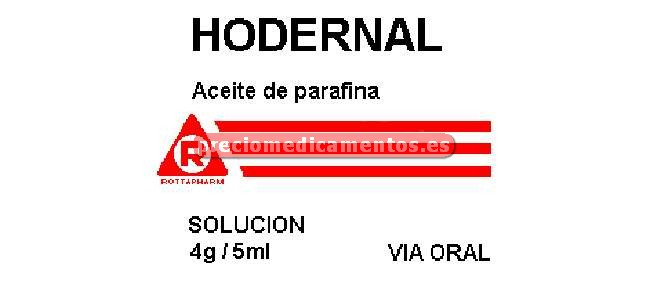 Caja HODERNAL 4 g/5 ml solución 300 ml