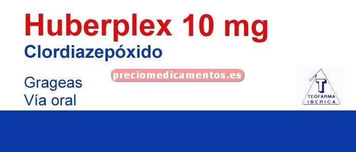 Caja HUBERPLEX 10 mg 30 grageas