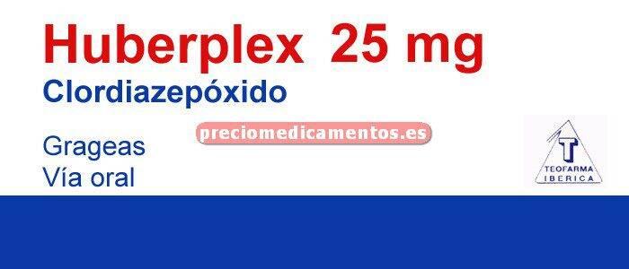 Caja HUBERPLEX 25 mg 30 grageas
