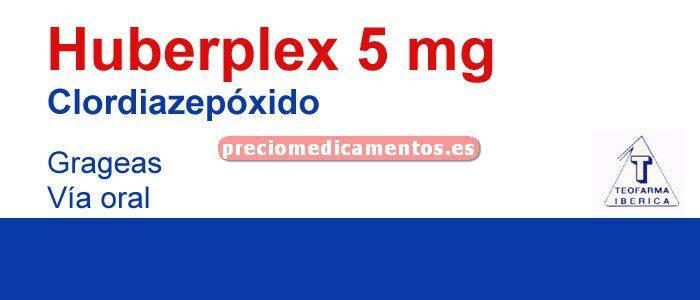 Caja HUBERPLEX 5 mg 30 grageas