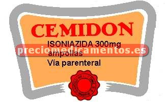 Caja CEMIDON 300 mg IV 5 ampollas 5 ml