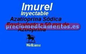 Caja IMUREL 50 mg 1 vial