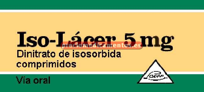 Caja ISO LACER 5 mg 50 comprimidos