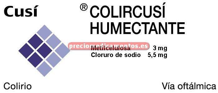 Caja COLIRCUSI HUMECTANTE colirio 15 ml