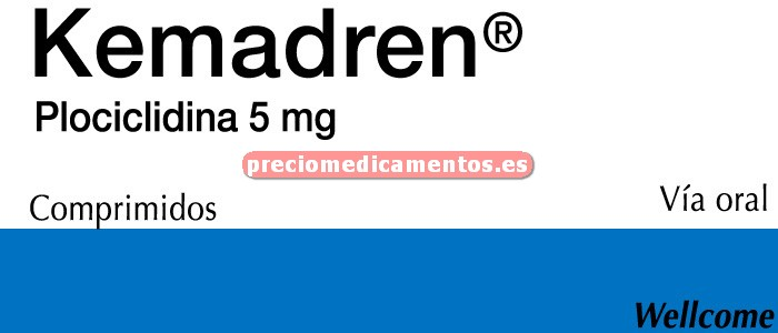 Caja KEMADREN 5 mg 25 comprimidos