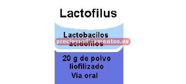 Caja LACTOFILUS polvo 20 g
