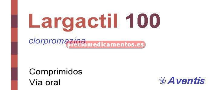 Caja LARGACTIL 100 mg 30 comprimidos
