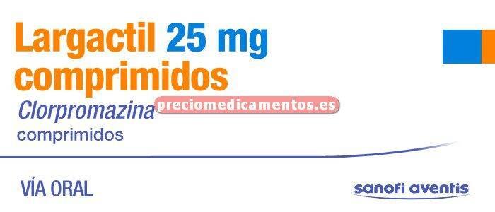 Caja LARGACTIL 25 mg 50 comprimidos