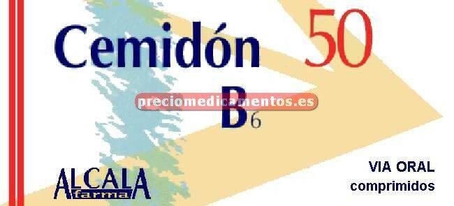 Caja CEMIDON 50 B6 50/15 mg 100 comprimidos