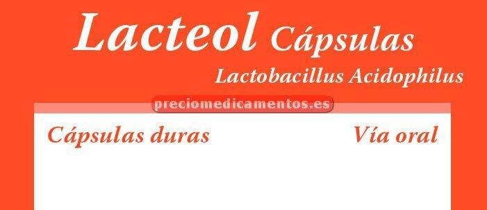 Caja LACTEOL 10 cápsulas