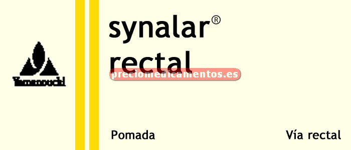 Caja SYNALAR RECTAL SIMPLE 0.01% crema 60 g