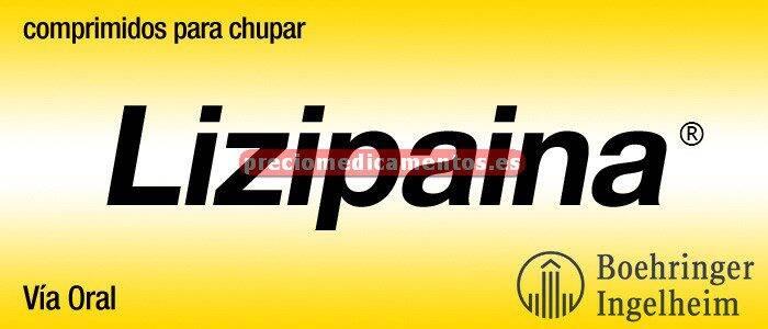 Caja LIZIPAINA 20 comprimidos para chupar
