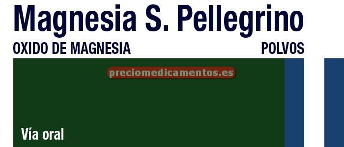 Caja MAGNESIA SAN PELLEGRINO 3.6 g 20 sobres