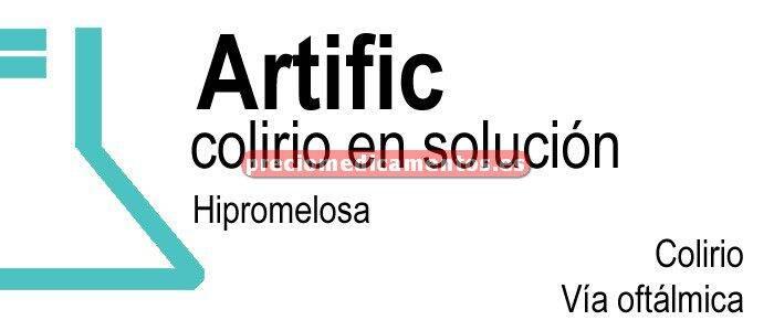 Caja ARTIFIC 0,32% colirio 30 monodosis solución 0,5 ml