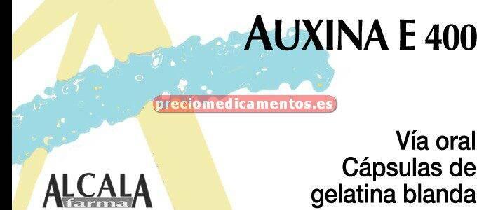 Caja AUXINA E 400 mg 30 cápsulas