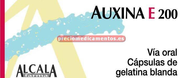 Caja AUXINA E 200 mg 20 cápsulas