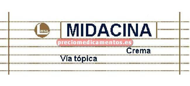 Caja MIDACINA crema 15 g