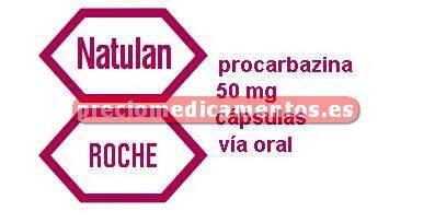 Caja NATULAN 50 mg 50 cápsulas
