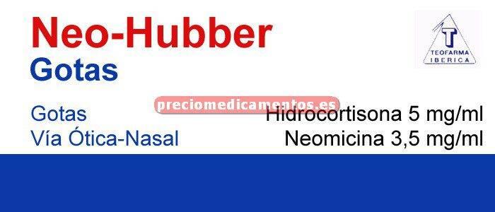 Caja NEO HUBBER gotas óticas/nasales suspensión 5 ml