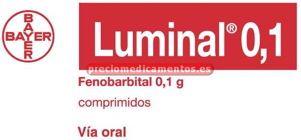 Caja LUMINAL 100 mg 50 comprimidos