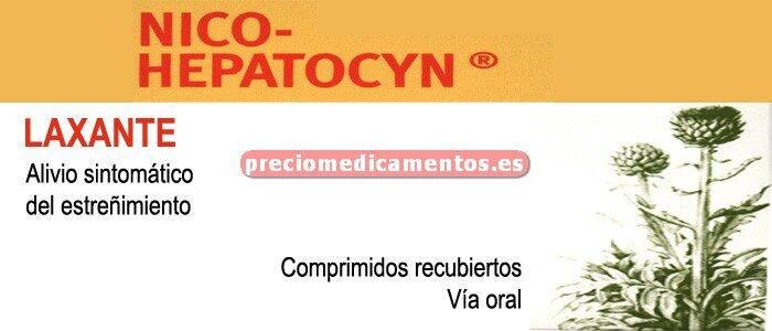 Caja NICO HEPATOCYN 60 comprimidos recubiertos