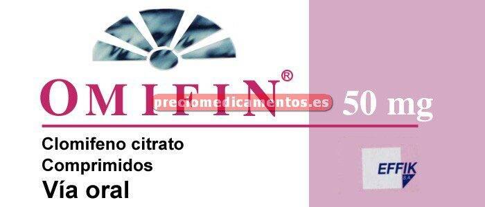 Caja OMIFIN 50 mg 10 comprimidos