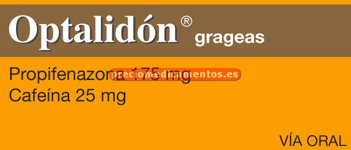 Caja OPTALIDON 175/25 20 grageas