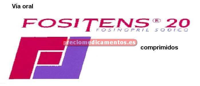 Caja FOSITENS 20 mg 28 comprimidos (transparente)