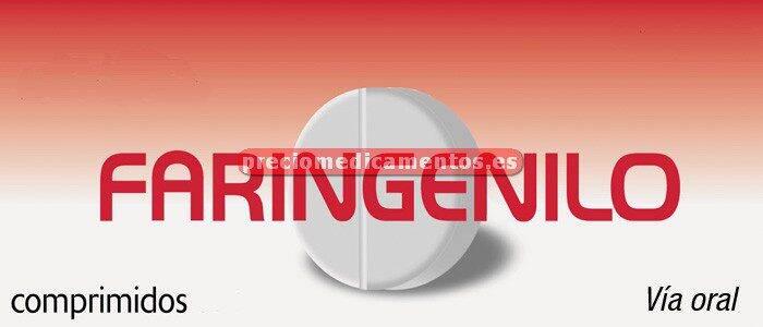 Caja FARINGENILO 20 comprimidos disoluc oral