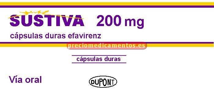 Caja SUSTIVA 200 mg 90 cápsulas duras